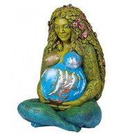 The Millennial Gaia Statue brings our consciousness of Mother Earth into a physical form. Designed by spiritual teacher Oberon Zell