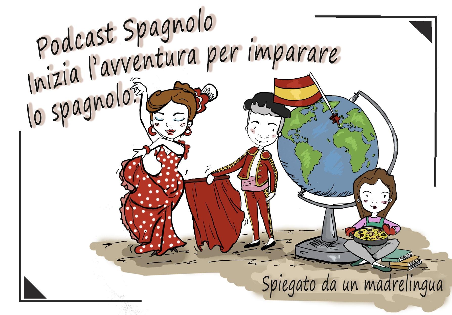 Podcast Spagnolo 🎙️ inizia l'avventura per imparare lo spagnolo.