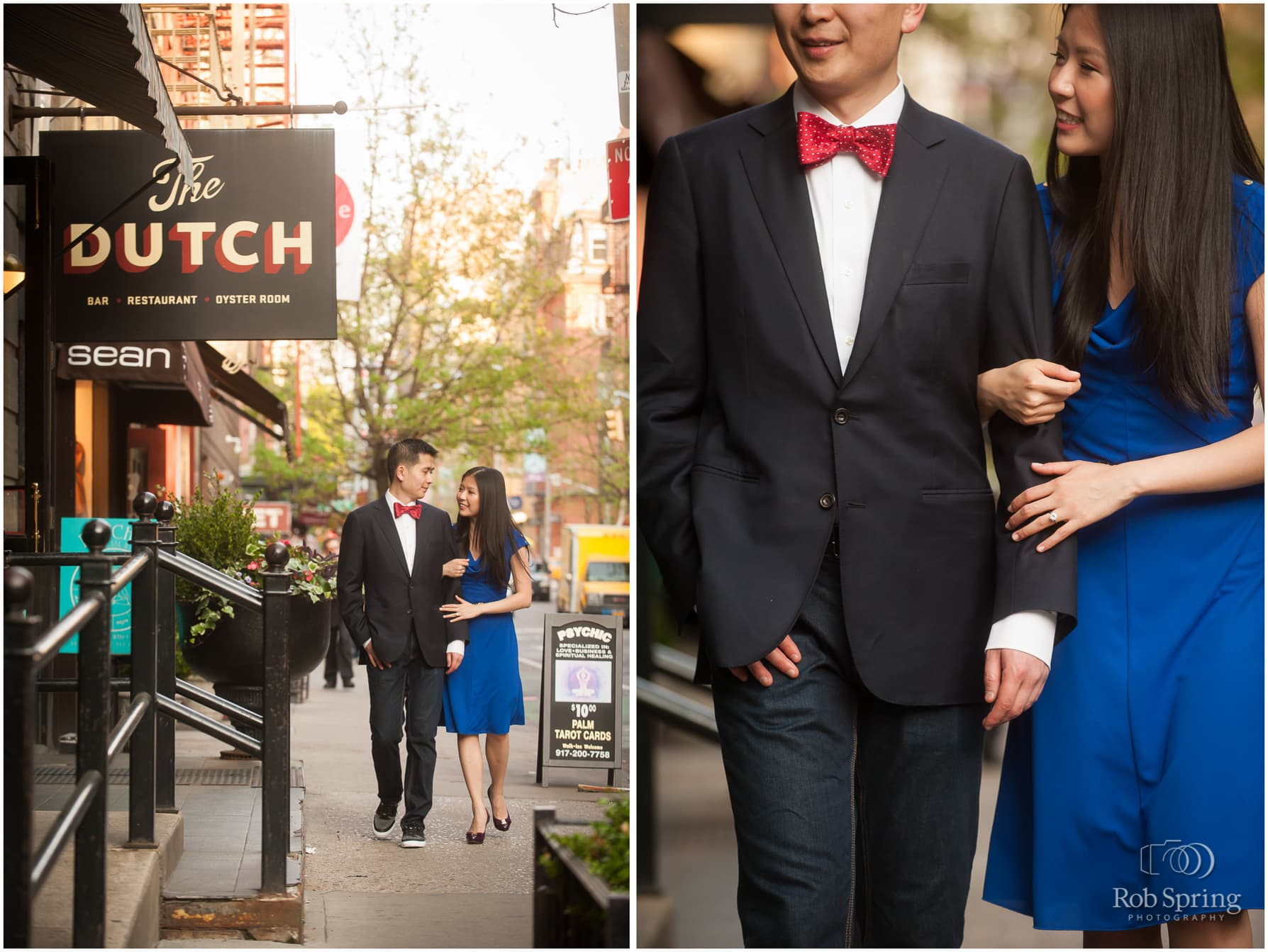 Soho NYC engagement session