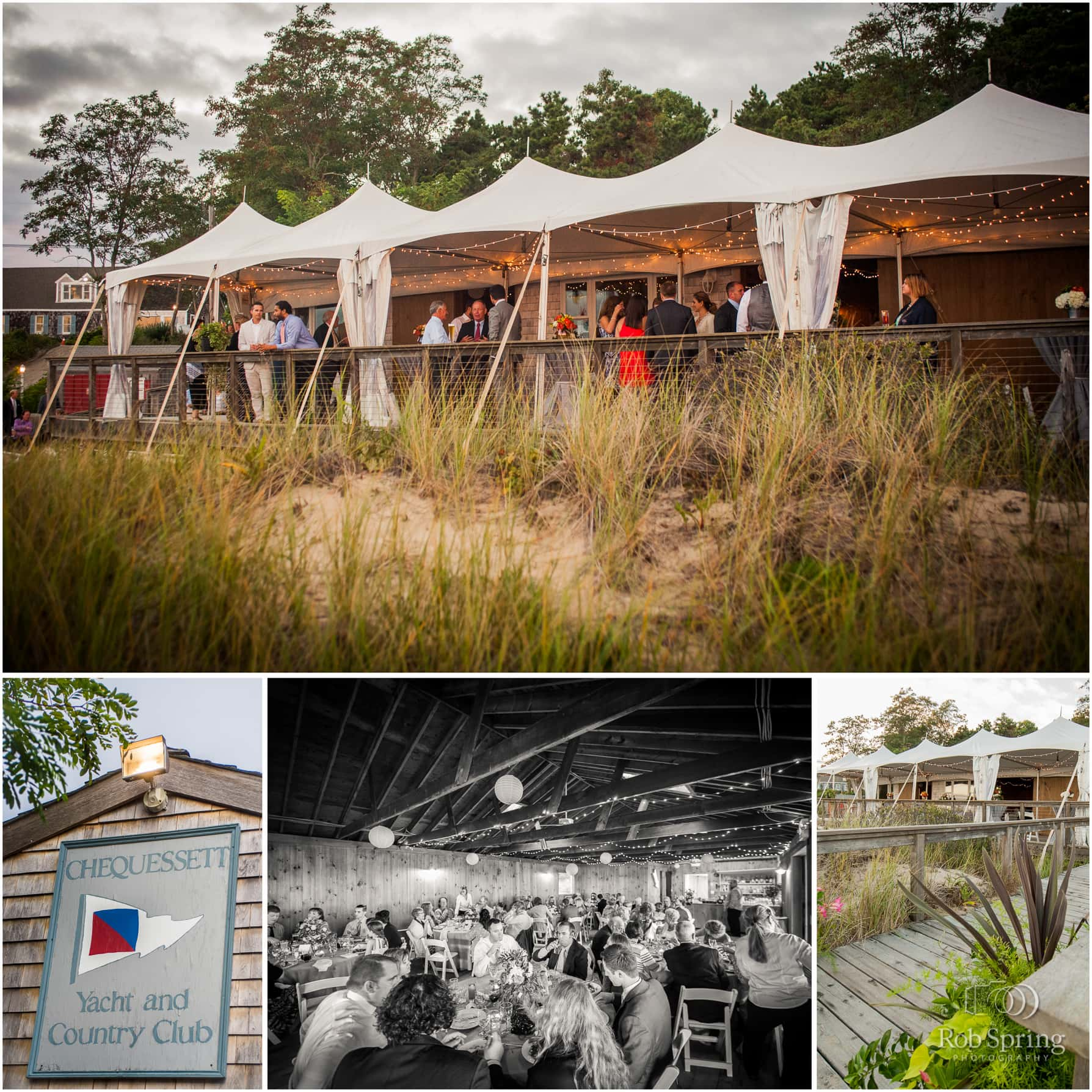 Chequessett Yacht & Country Club Wedding Reception tent, Cape Cod Wedding Photographers