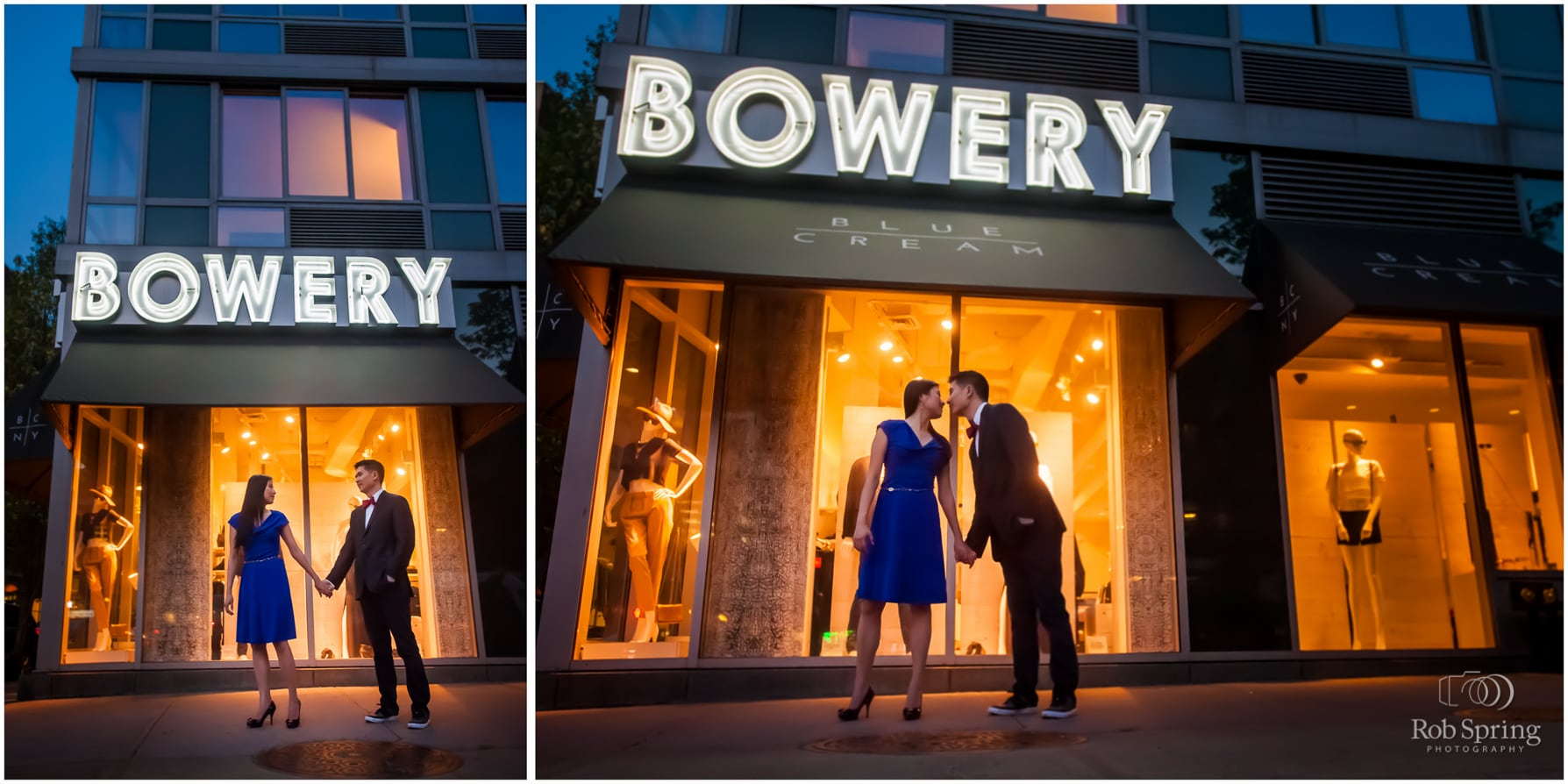The Bowery engagement session, NYC