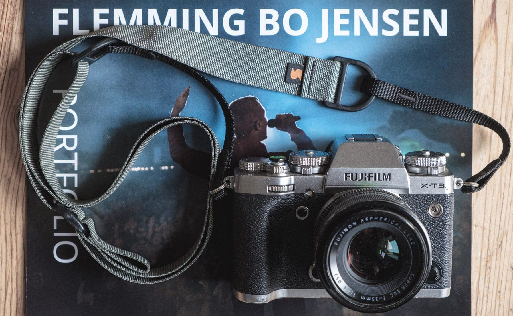 Flemming Bo Jensen recensa i so cinghii di camera Simplr F1