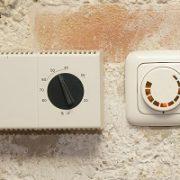 Heizungsthermostat, Heizung, präzise Steuerung, Thermostatkopf, Temperaturfühler