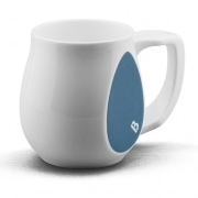 Ceramic Turquoise coffee mugs perfect as a novelty mug gift