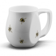 yellow bee mug by Buddy Mugs