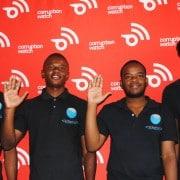 The Kriterion team (l to r) - Nnaemeka Obodoekwe, Vuyane Ngwenya, Rito Vukela and Kennedy Siguake.