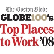 The Boston Globe Top Places to Work 2008