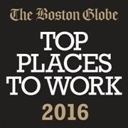 The Boston Globe Top Places to Work 2016