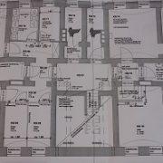 Sanitärplanung, Badplanung, Abwasser, Planung, Plan, Bauplan, Wasserleitungen