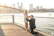 How to propose at Brooklyn Bridge park.