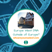 Europe West DNA Outside of Europe?