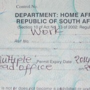 South African work permit
