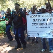Anti-corruption march