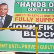 John Block poster of support