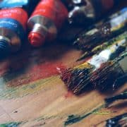 Oil paint supplies