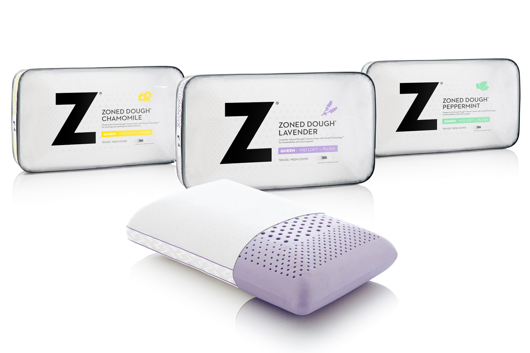 high quality memory foam pillows from Malouf