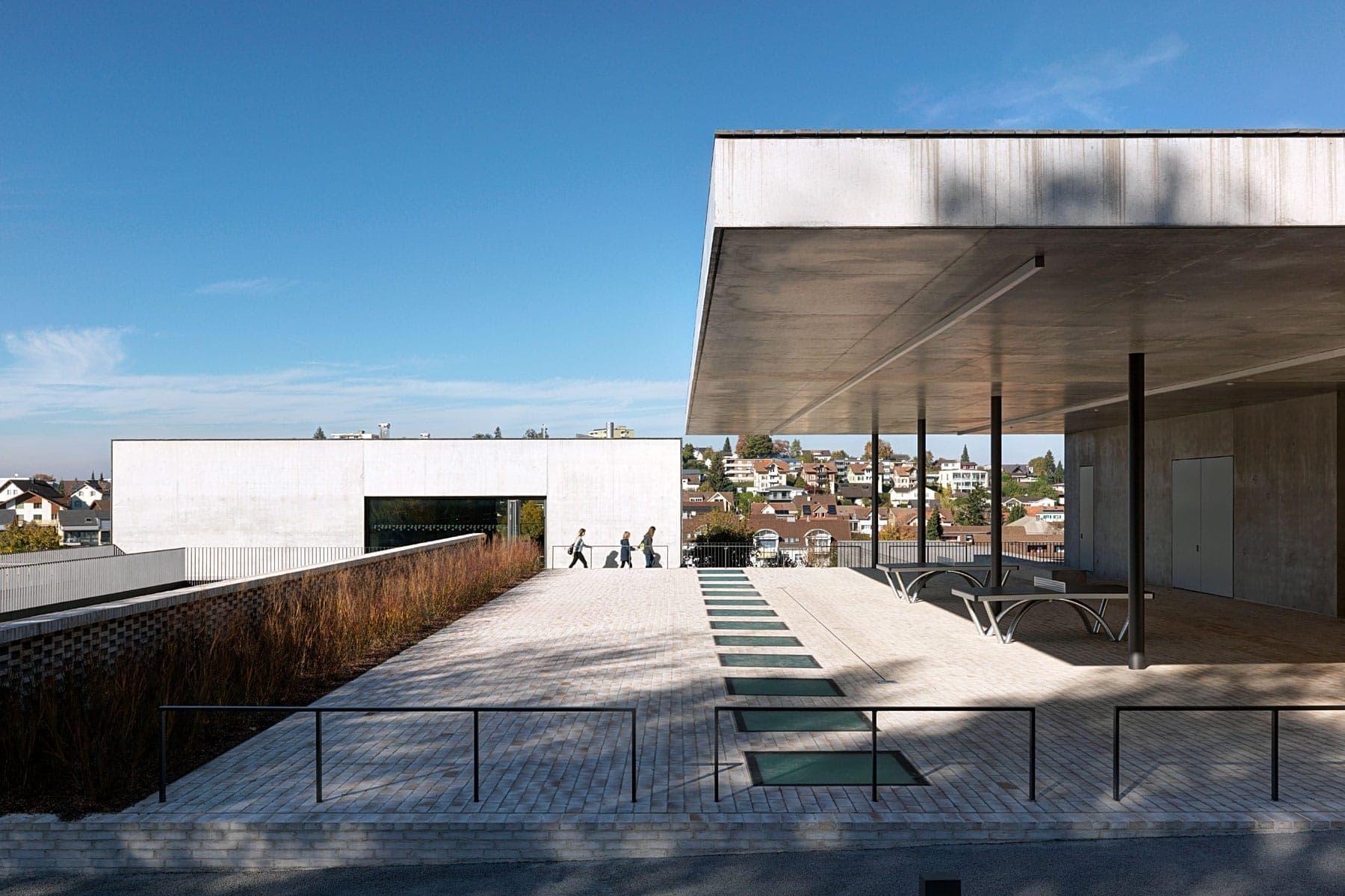 Heilpädagogische Schule Flawil Terrasse