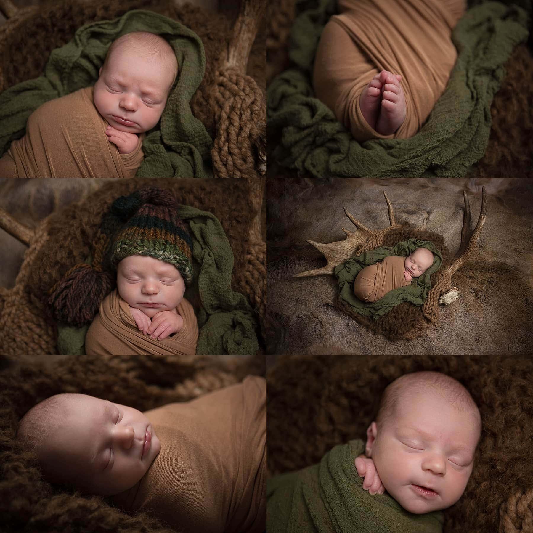 baby boy newborn photo session at home in San Antonio, Texas