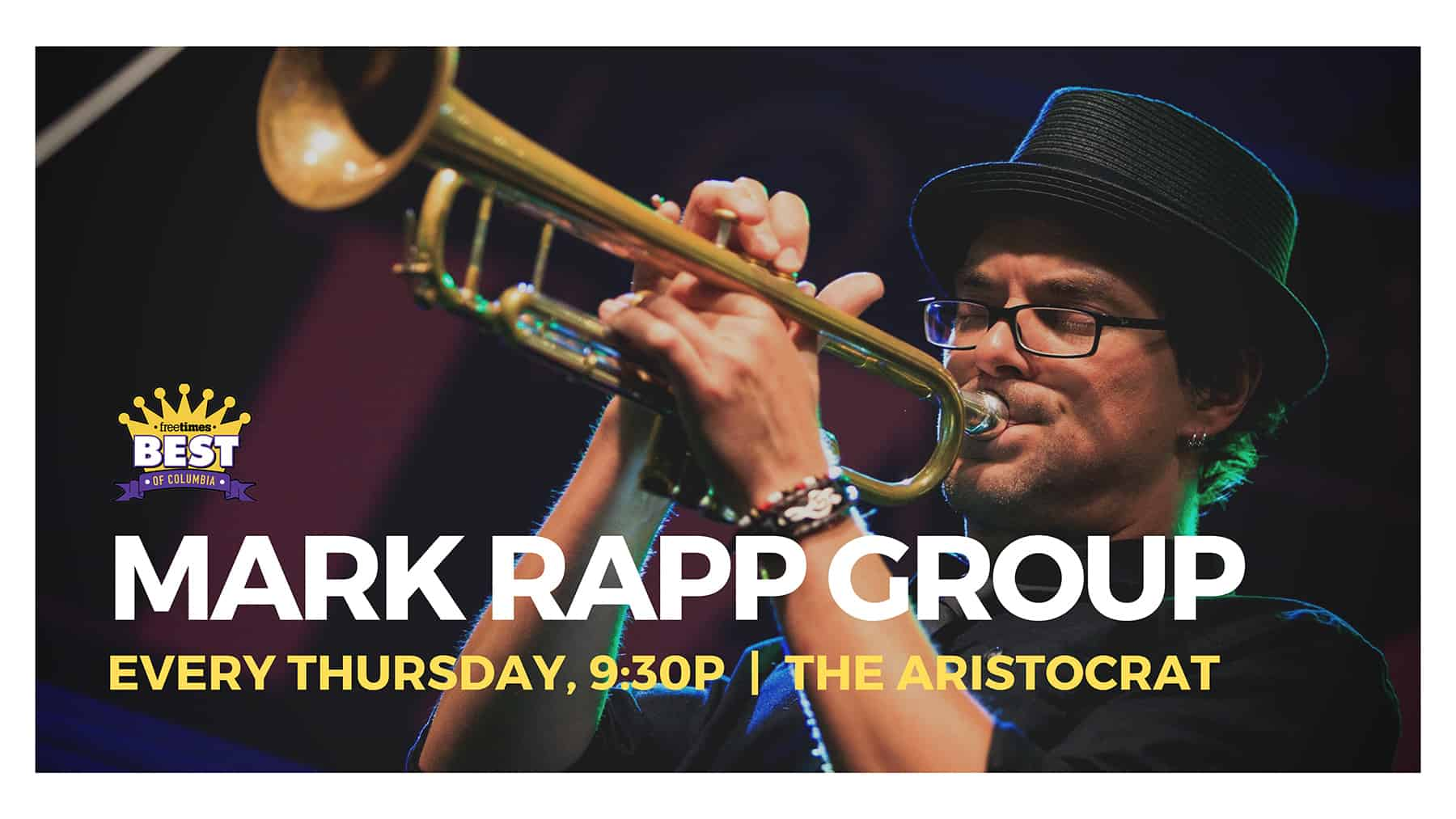 Mark Rapp at the Aristocrat