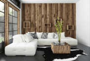 How to Make Wood Paneling Look Modern