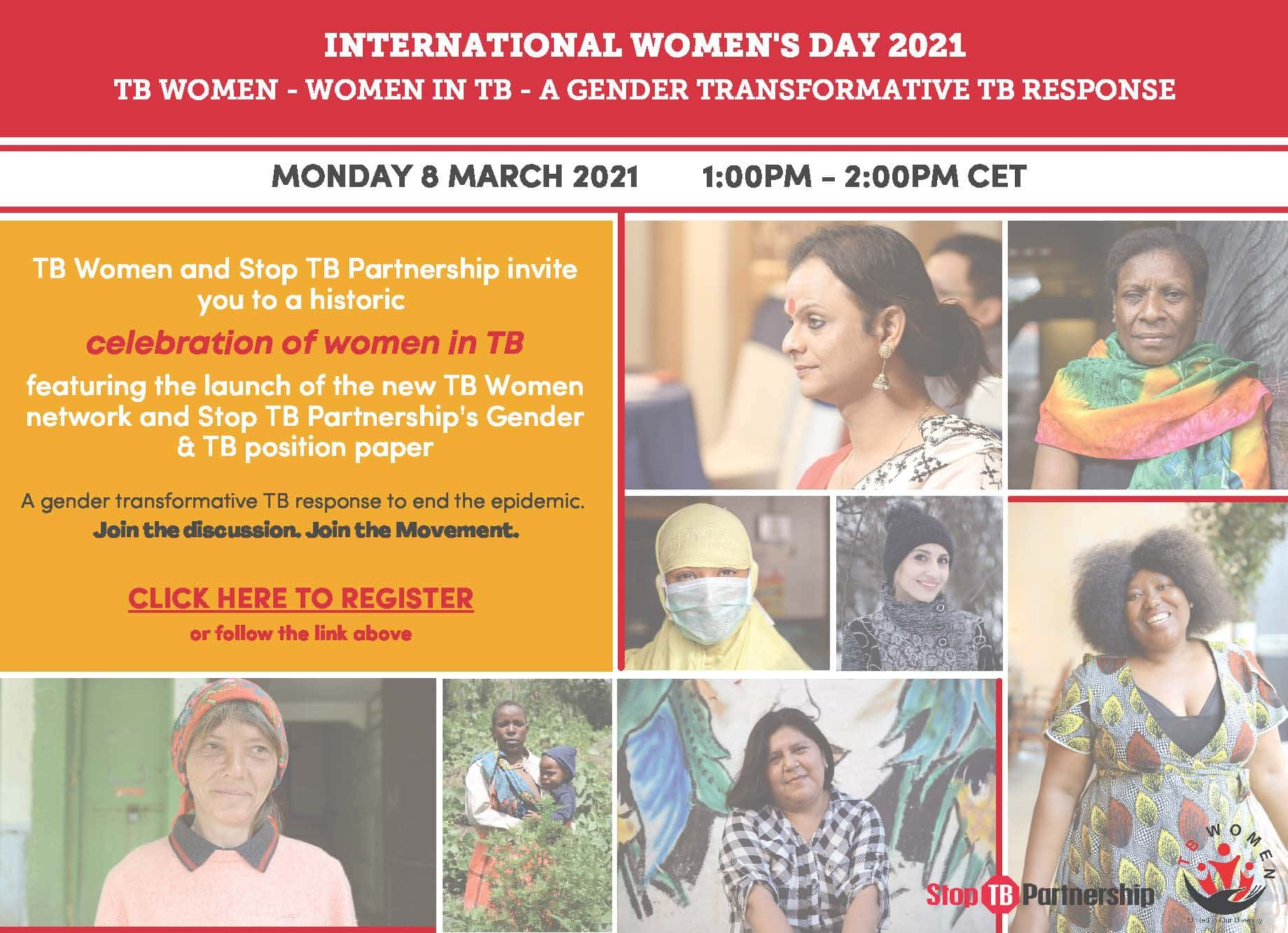 IWD 2021 Event Flyer