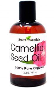 Sweet Essentials Organic Camellia Seed Oil