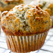 Orange Lemon Poppyseed Muffins from The Salted Cookie