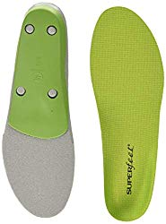 Superfeet GREEN Insoles, Professional-Grade High Arch Orthotic Insert