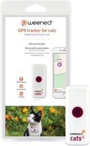 weenect cats 2 collier gps pour chat