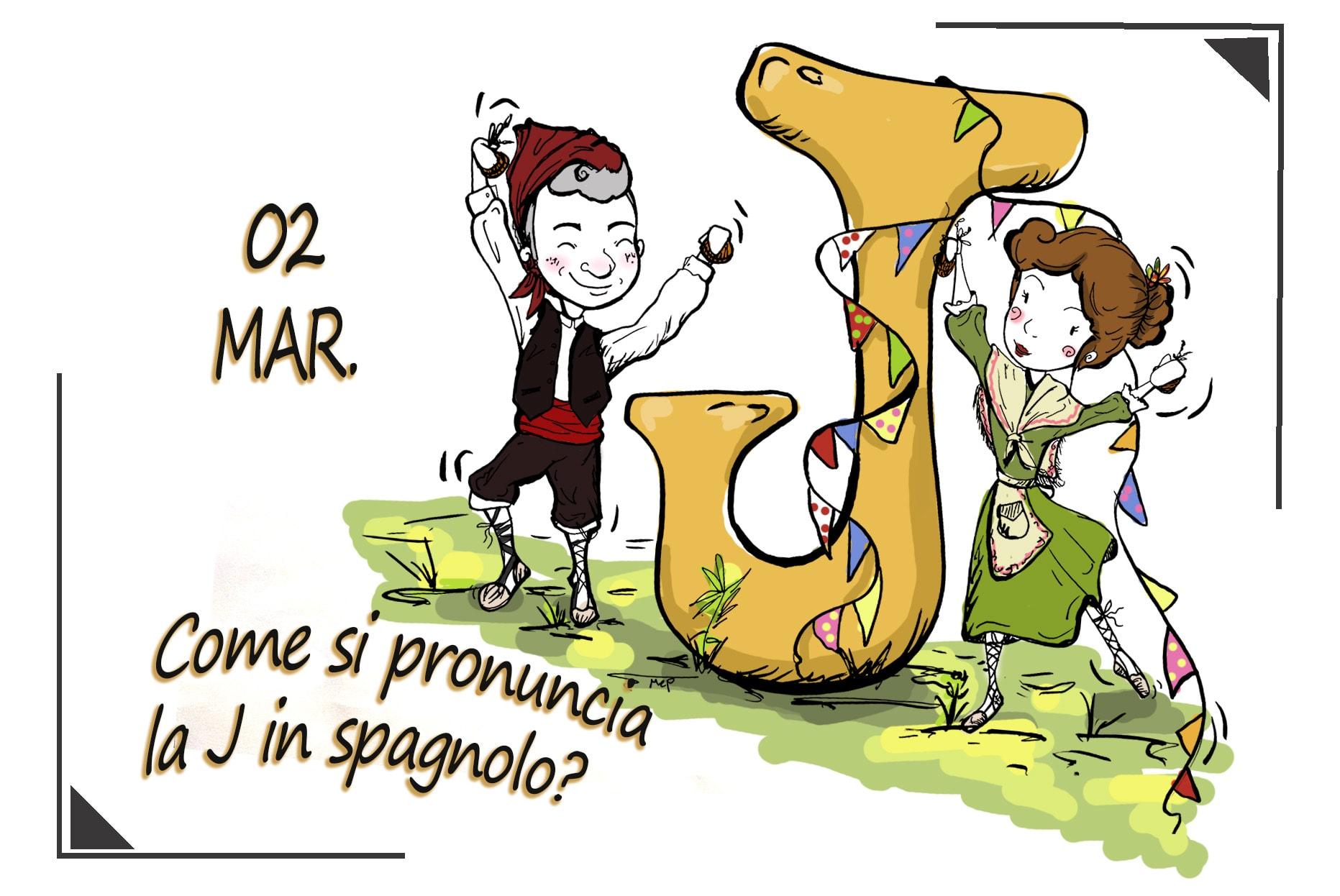 Come si pronuncia la J in spagnolo?