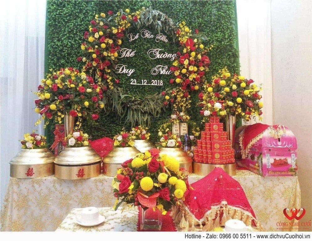 Công Nghệ Cưới chuyên tổ chức đám cưới và cung cấp dịch vụ cưới hỏi trọn gói