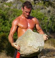 Erwan Carries a Rock