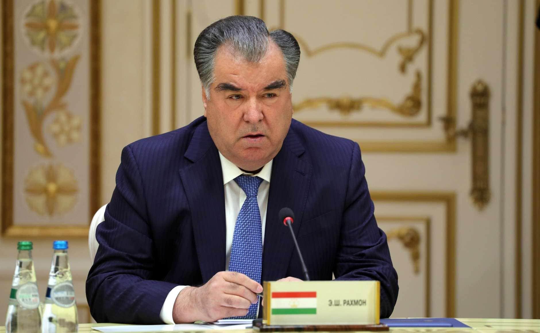 tajik president