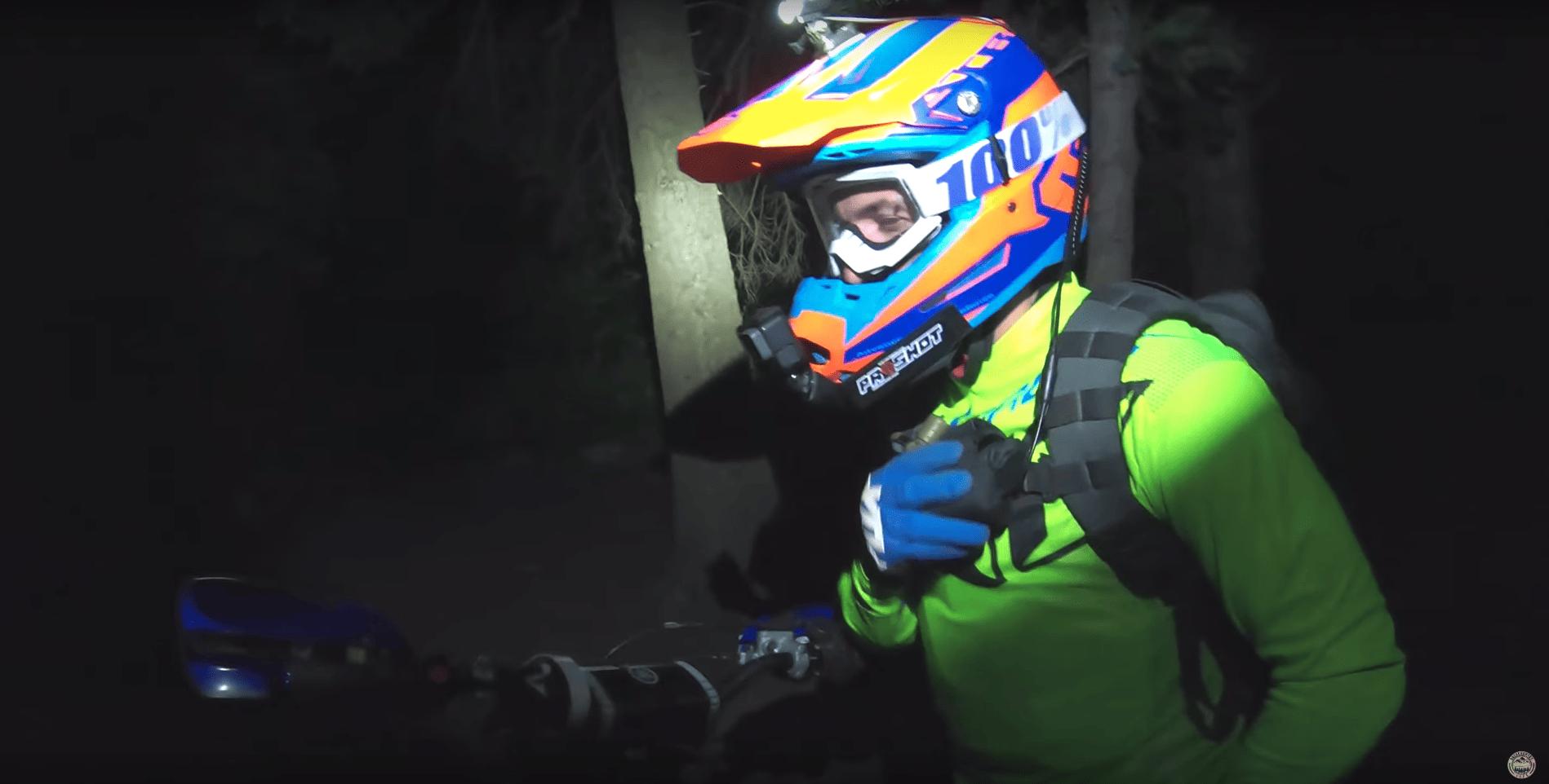 Oxbow helmet light kit