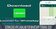 Download Apk labalabi for whatsapp Terbaru 2020