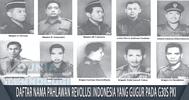 Daftar Nama Pahlawan Revolusi Indonesia yang gugur pada G30S PKI