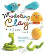 Modeling Clay with 3 Basic Shapes Awesome Activity Books: Crafts, Magic, Drawing, and More