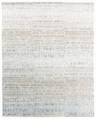 srebrno beżowy dywan wycinany Shangri La Seascape 7031