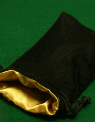 Dobbelstenenzak Dice Bag Gold Large