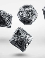 Polydice Set Q-Workshop Metal Call of Cthulhu