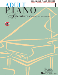 Nancy Faber, Randall Faber - Adult Piano Adventures All-in-One Piano Course Book 1
