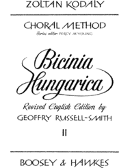 Zoltan Kodaly - Bicinia Hungarica II