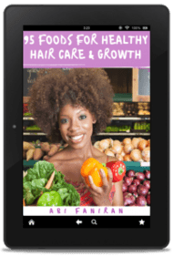 95 Foods for Healthy Hair Care and Growth Cover copy