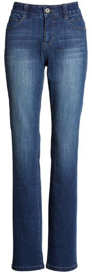 elastic waist jeans by Jag Jeans | 40plusstyle.com