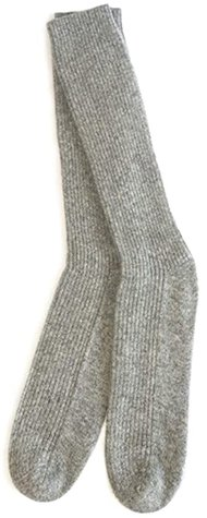 Hours&Hours cashmere bed socks | 40plusstyle.com