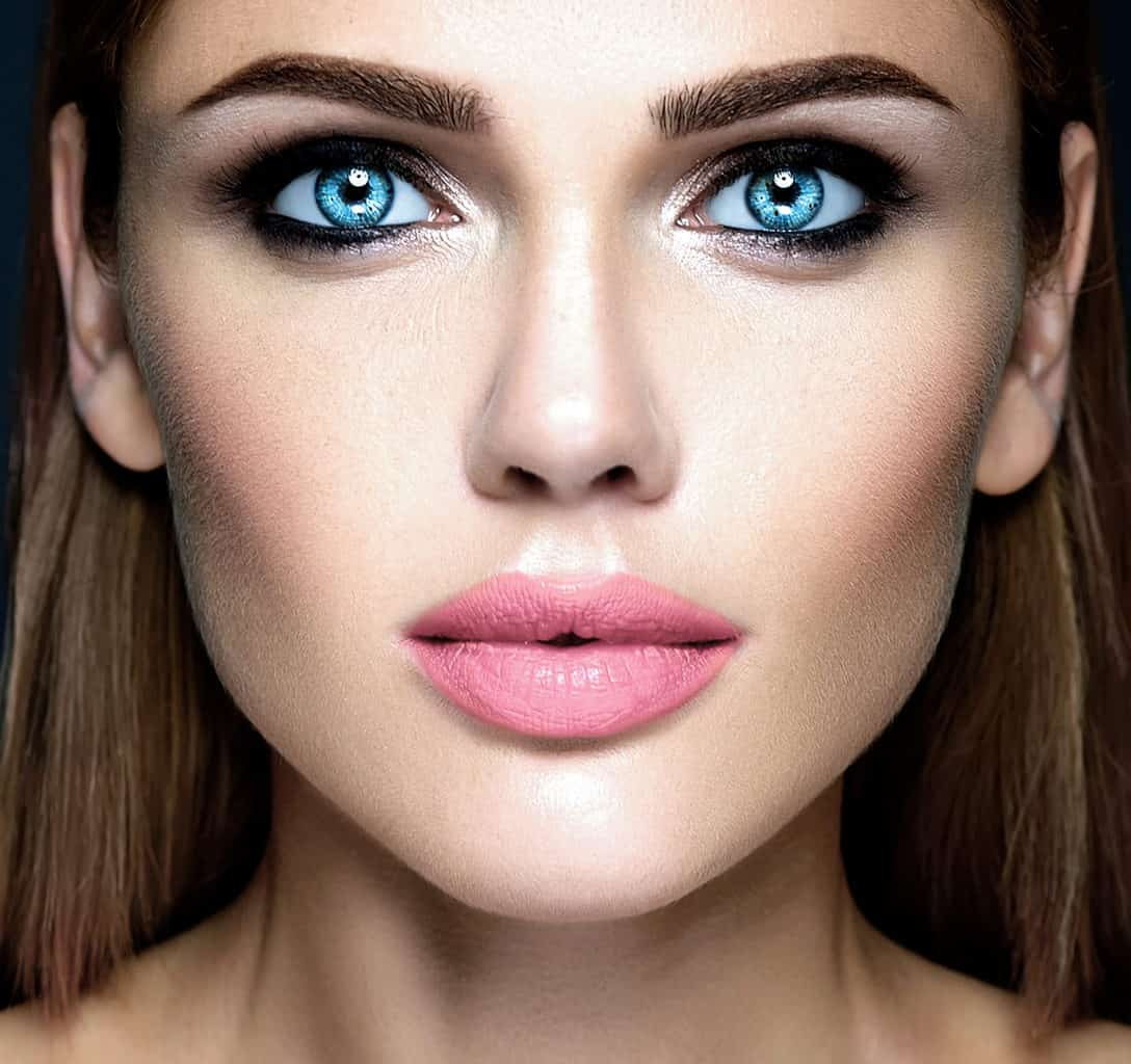 oprawa oka z produktami noble lashes