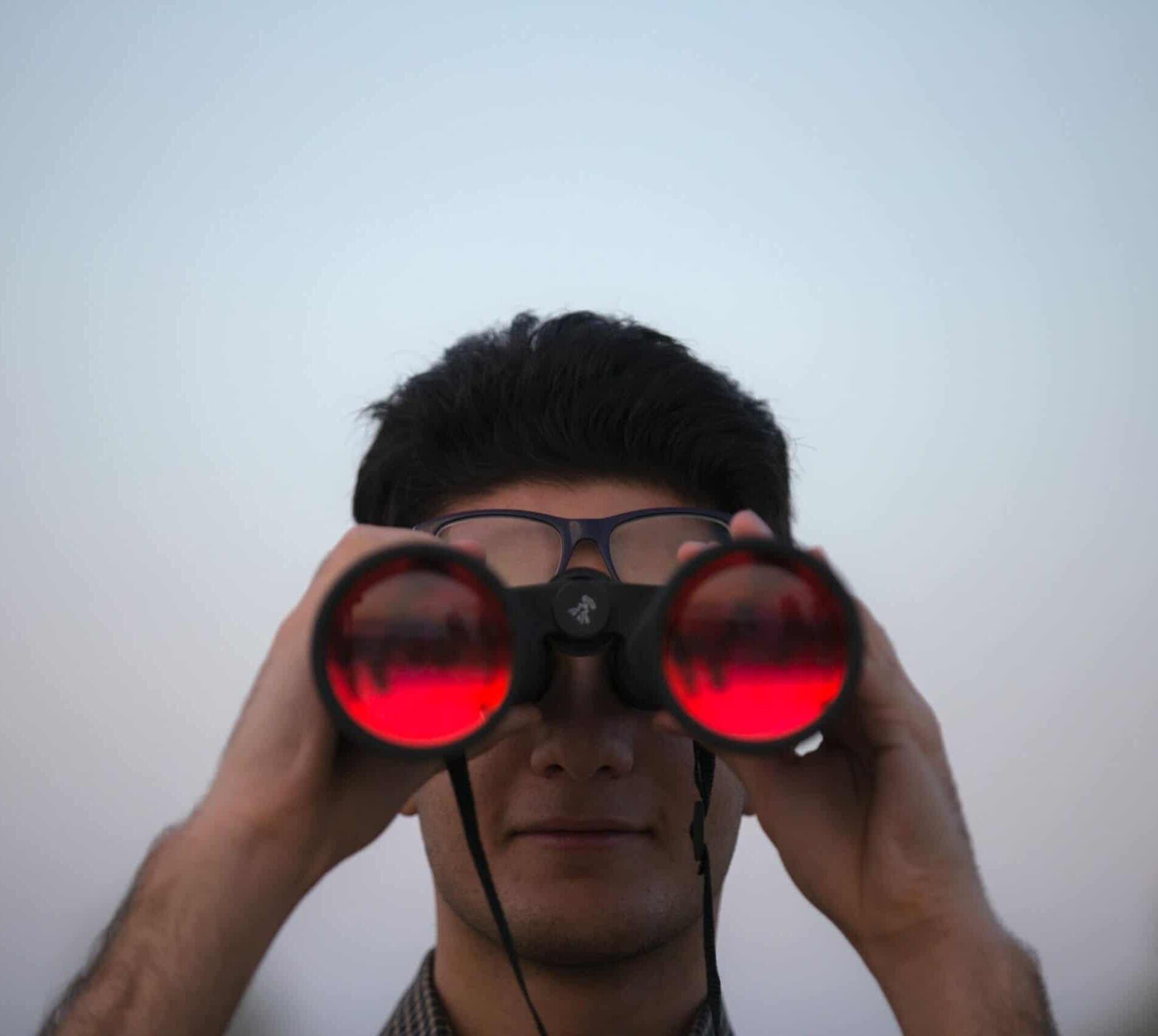 Benefits of SEO website marketing blue dolphin binoculars