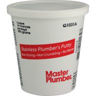 Stainless plumber's putty - 14 oz tub