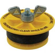 """Cherne End of Pipe Gripper plug - 3"""""""