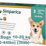 Flea control for Dogs 10-20 kg (22-44lbs) pet prescriptions sale online